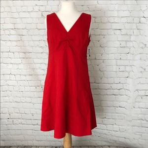 Kate Spade Dress Fit and Flare Red Size 10 NWT